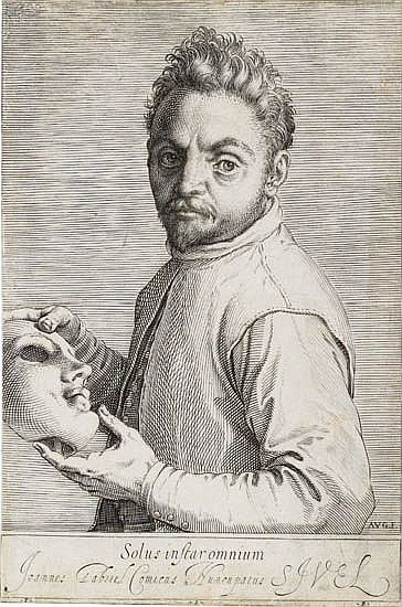 AGOSTINO CARRACCI Portrait of Giovanni Gabrielli, Called