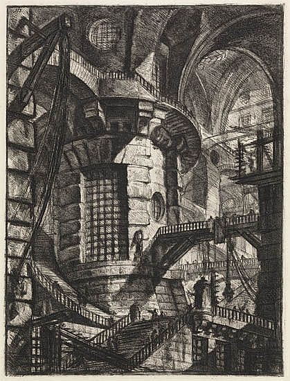 GIOVANNI B. PIRANESI The Round Tower.