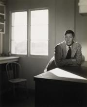LYNES, GEORGE PLATT (1907-1955) Group of 3 photographs, comprising portaits of W.A. Auden,