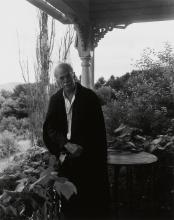 KANAGA, CONSUELO (1894-1978) Alfred Stieglitz at Lake George.