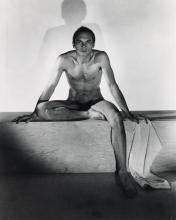 LYNES, GEORGE PLATT (1907-1955) Group of 3 photographs of Yul Brynner.