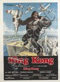 DESIGNER UNKNOWN. KING KONG. 1976. 55x39 inches, 139x100 cm. Veloprint, Rome.