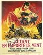ROGER SOUBIE (1898-1984). AUTANT EN EMPORTE LE VENT. 1950. 63x47 inches, 160x119 cm. Cinematu, Paris.