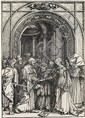 ALBRECHT DÜRER The Betrothal of the Virgin.