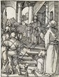 ALBRECHT DÜRER Christ before Pilate.