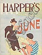 EDWARD PENFIELD (1866-1925). HARPER'S JUNE. 1894. 17x12 inches, 43x32 cm.