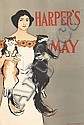 EDWARD PENFIELD (1866-1925). HARPER'S MAY. 1896. 17x11 inches, 45x30 cm.