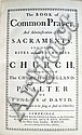 BASKERVILLE PRESS.  1760  The Book Of Common Prayer.