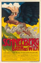 TRAVEL POSTERS FROM JULIUS PAUL COLLECTION