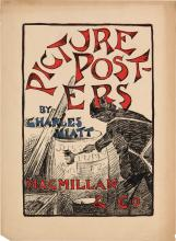 DESIGNER UNKNOWN. PICTURE POSTERS / BY CHARLES HIATT. 1895. 18x13 inches, 46x33 cm.