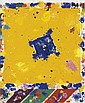 SAM FRANCIS Untitled (Ten Puffs).