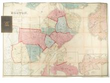 (BOSTON.) Smith, George G[irdler]. Plan of Boston Comprising a Part of Charlestown and Cambridge.
