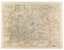 BRAUN, GEORG; and HOGENBERG, FRANZ. Urbis Romae Situs cum iis quae adhuc Conspiciuntur Veter. Monumet Reliquiis Pyrrho Ligorio Neap.