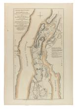 (NEW YORK CITY.) Faden, William. A Topographical Map of the Northn. Part of New York Island, Exhibiting the Plan of Fort Washington.