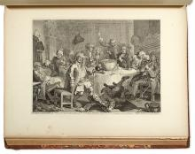 HOGARTH, WILLIAM. The Works. . . from the Original Plates restored by James Heath.