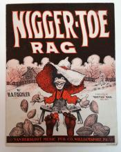 (SHEET MUSIC--AFRICAN AMERICAN AND BLACK FACE.) Group of over 25 American pieces with African American themes,