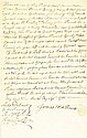 (SLAVERY AND ABOLITION--NEW YORK.) Early New York Manuscript Slave Sale Document, wherein James Mathews of New Cornwall, New York sells