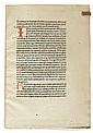 ALBERTANUS CAUSIDICUS BRIXIENSIS [Albertano, da Brescia]. De arte loquendi et tacendi.  Circa 1476
