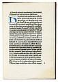 ROLEWINCK, WERNER. Formula vivendi canonicorum. Circa 1471-75