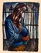 CHARLES WHITE (1918 - 1979) Hope Imprisoned.