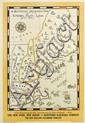 JOHN HELD, JR. (1889-1958). A BEAUTIFULLY ENGROSSED MAP OF SUMMER PLAY LAND. 1930. 42x27 inches, 106x70 cm. Rogers-Kellogg-Stillson Com