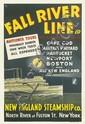 DESIGNER UNKNOWN. FALL RIVER TO THE TREASURELAND OF HISTORY / NEW ENGLAND STEAMSHIP CO. Circa 1934. 45x30 inches, 115x77 cm. Eldredge C