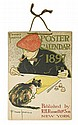 EDWARD PENFIELD (1866-1925). POSTER CALENDAR 1897. Deluxe edition. 9 pages. 1896. 14x10 inches, 35x25 cm. R.H. Russell & Son, New York.