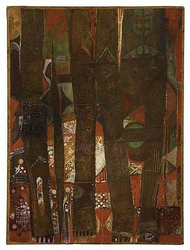 ALEXANDER SKUNDER BOGHOSSIAN (1937 - 2003) The Bark of the Hanging Three.