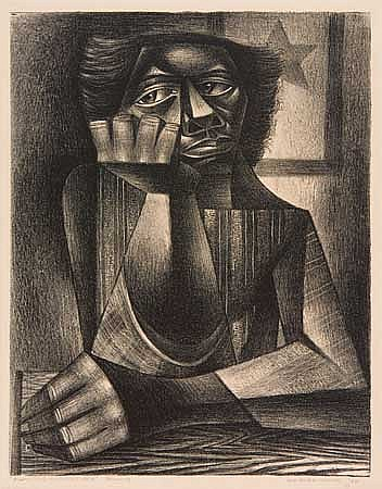 CHARLES WHITE (1918 - 1979) Awaiting His Return.