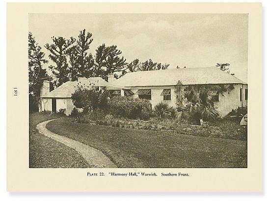 (ARCHITECTURE.) Humphries, John S. Bermuda Houses.