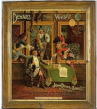 RARE WINDOW CARDS OF THE JULIUS PAUL COLLECTION
