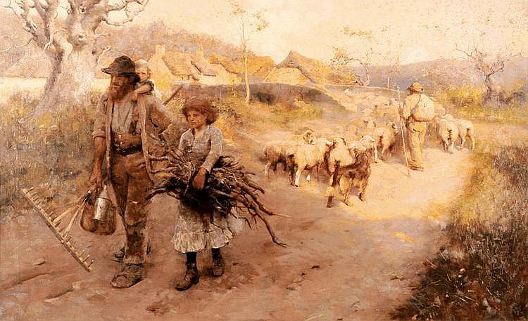 *Frederick Hall (1860-1948) (CG), 'THE END OF THE