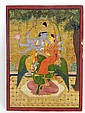Phari School (c.1850), VISHNU WITH A CONSORT