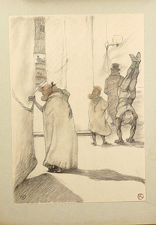 CIRCUS (TWO WORKS): Toulouse-Lautrec (Henri de),
