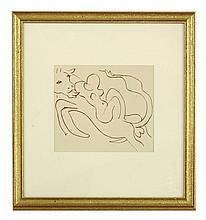 After Henri Matisse, 'PASIPHAE AND THE BULL'