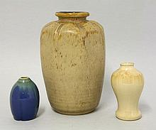 A Royal Doulton stoneware vase, designed by J H