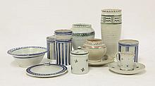 A collecton of Carter Stabler Adams pottery,