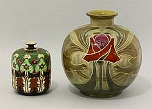 A Royal Bonn pottery vase, of globular form, with
