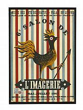 A poster for the 6e Salon de L'Imagerie, Museé des