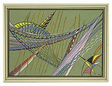 *Carew Finch (1908-1985), 'EN FILER' Signed with
