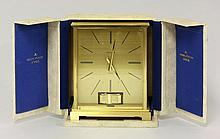 A Jaeger le Coultre 'Atmos' clock, in original box