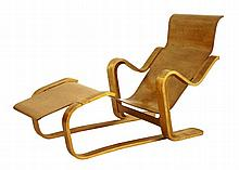 An Isokon 'Long Chair', designed by Marcel Breuer