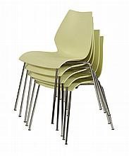 A set of six 'Maui' chairs, designed by Vico