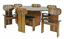 An 'Artona' dining suite, designed in 1975 for