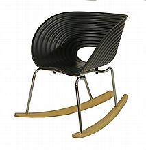 A Tom Rock chair, designed by Ron Arad for Vitra,