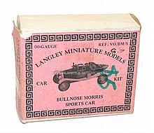 Langley OO-gauge Bullnose Morris Sports Car Kit