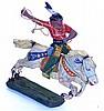 Elastolin Composite Figures Indian on Horse