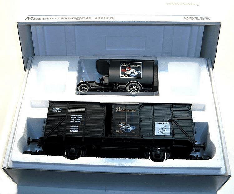 Marklin 1-gauge 85895 'Museumswagen 1995'  4-wheel Van