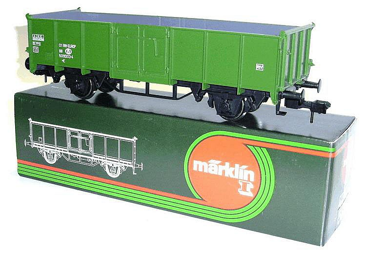 Marklin 1-gauge No. 5851 4-wheel Highside Wagon