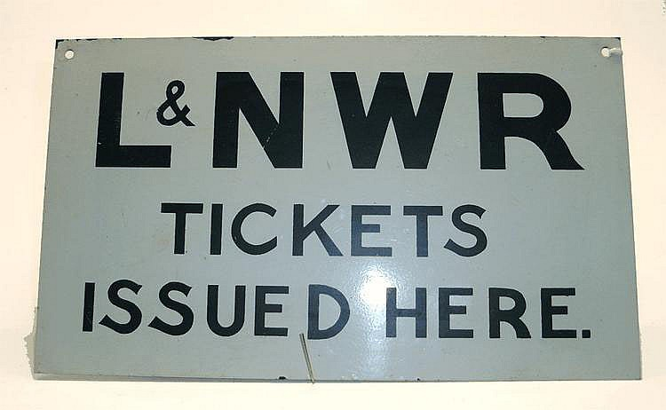 Metal Railway Sign